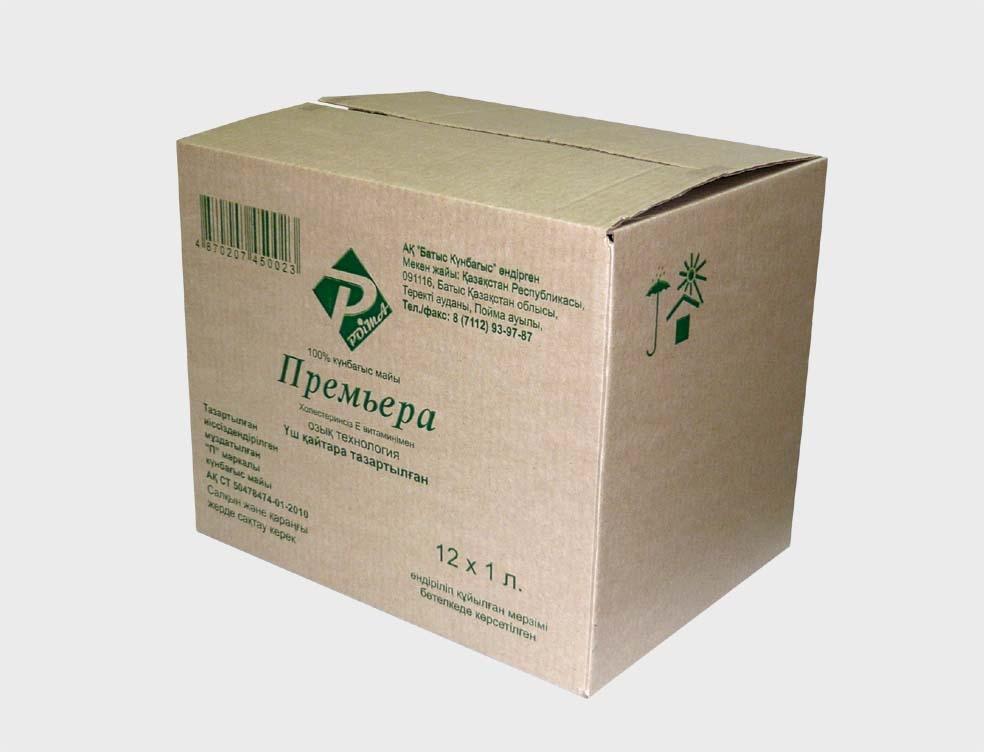 производство коробки четырехклапанные